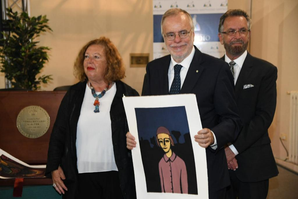 The Rabbi Moshe Rosen award to Andrea Riccardi