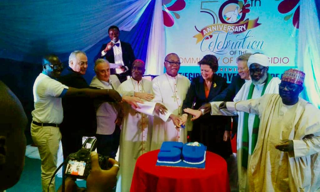 Nigeria celebrates the 50th of Sant'Egidio looking towards the future