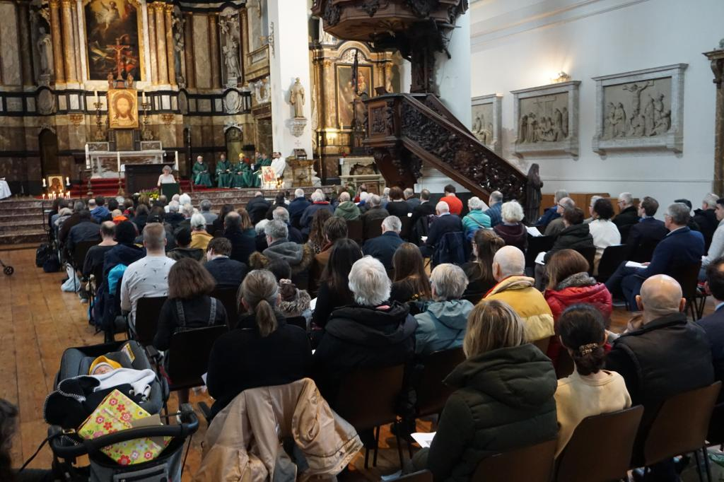 Sant'Egidio in Amsterdam celebrates the 52nd anniversary of the Community and the new rector for the church of Moses and Aaron