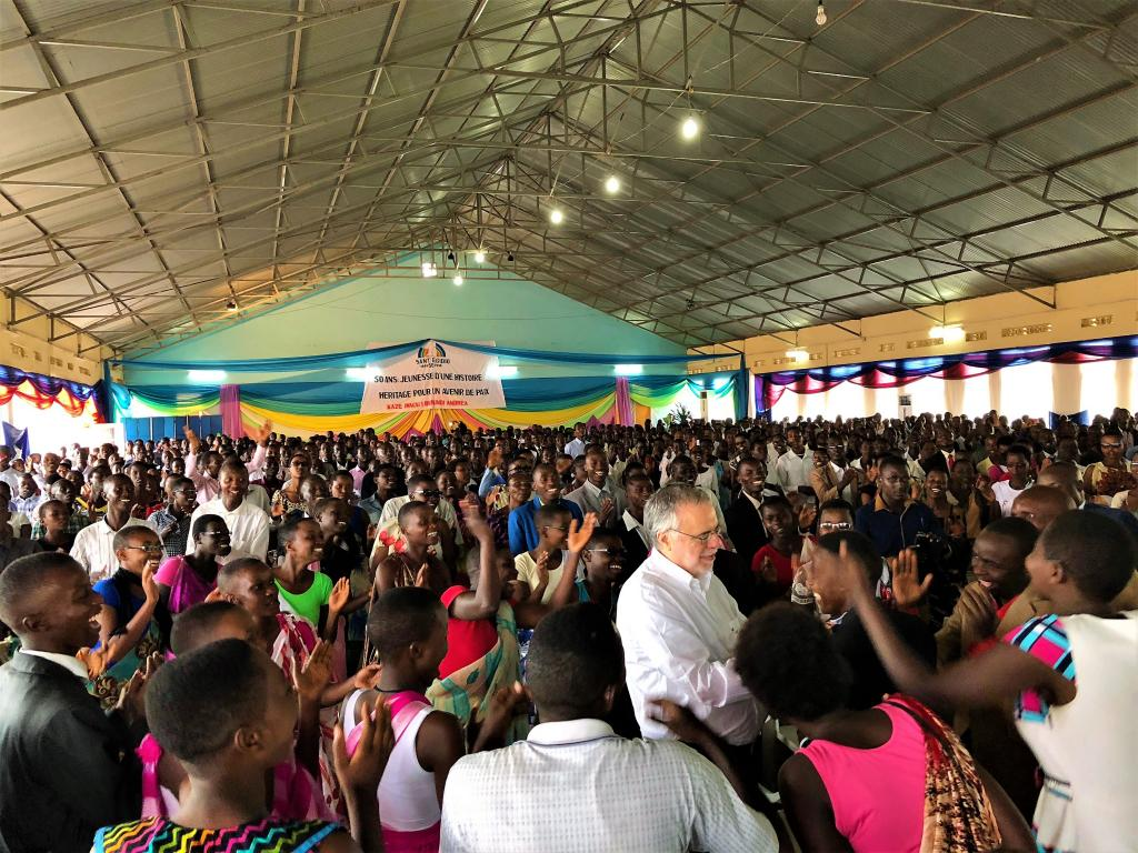 Burundi - Great enthusiasm for the visit of Andrea Riccardi on the 50th anniversary of Sant'Egidio