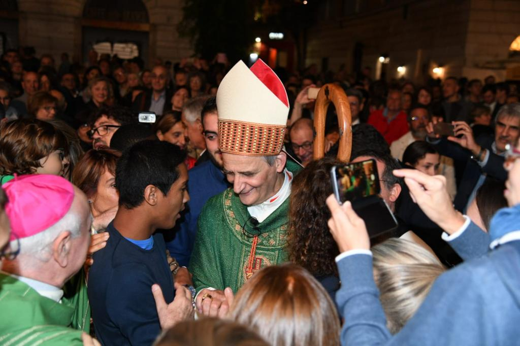 Trastevere embraces Don Matteo Zuppi, the new Cardinal: called to live in communion and compassion