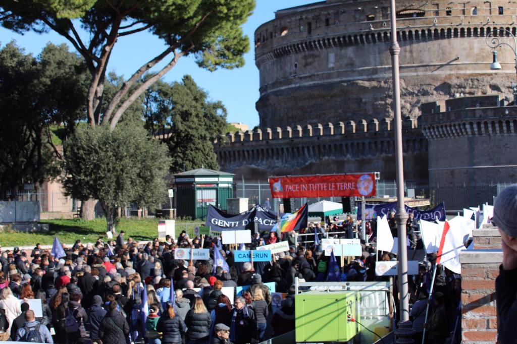 "Be craftsmen of Peace: Pope Francis' wishes to the marchers for ""Peace in Every Land 2019"""