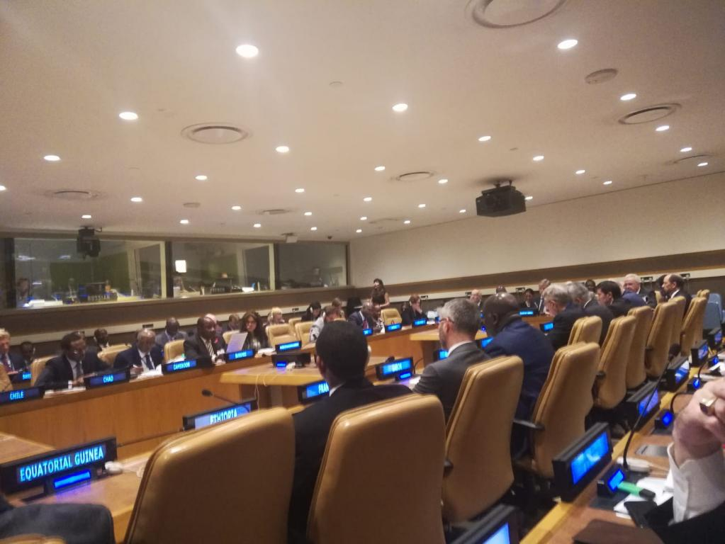 A delegation of the Community of Sant'Egidio participated in the General Assembly of the United Nations in New York