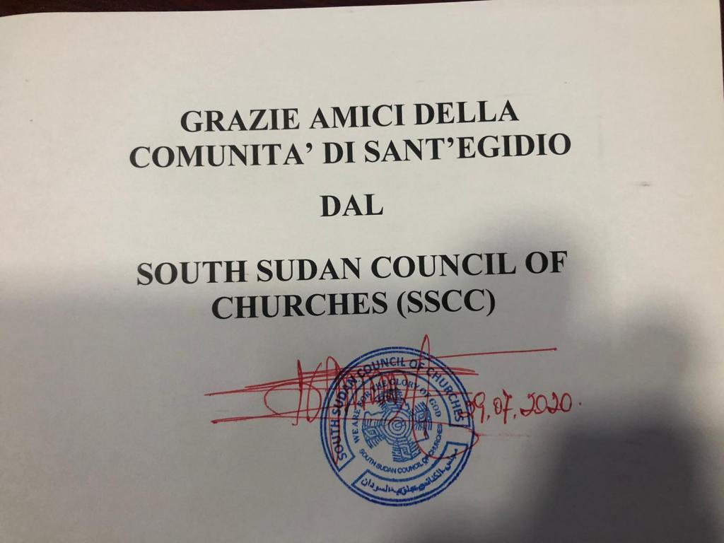 Humanitarian aid in South Sudan: Sant'Egidio's commitment to refugees and peace