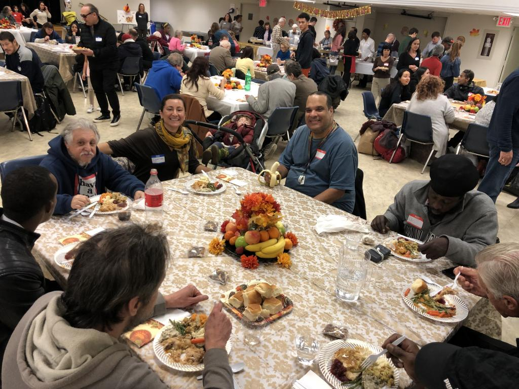 A Thanksgiving without walls: in New York, celebrating a friendship with no borders